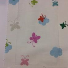 Тюлевая ткань из хлопка для детской комнаты на заказ в интернет-магазине, Super Globe Coor. Lace, col Unico 09, Испания.
