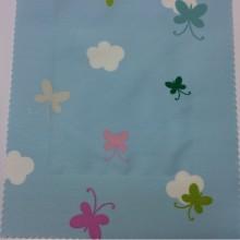Портьерная ткань из хлопка для детской комнаты, Super Globe Coor. — C, col Unico 09, Испания.