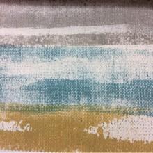 Портьерная плотная ткань из хлопка в современном стиле, Высота 2,80, Super Zamo-A, col: Aquamarina 24, Испания.
