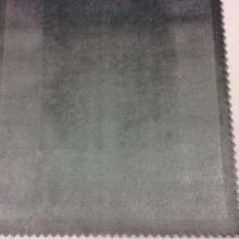 Роскошный однотонный бархат на заказ в интернет-магазине, Сизый, Ширина 1,50, Арт: 2419/75, Итальянский каталог портьерной ткани для пошива штор.