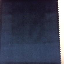 Купить роскошный однотонный бархат, Сапфировый оттенок, Ширина 1,50, Арт: 2419/70, Итальянский каталог ткани для пошива штор на заказ.