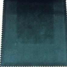 Заказать роскошный однотонный бархат, Ширина 1,50, Цвет тёмно-бирюзовый, Арт: 2419/54, Итальянский каталог ткани для штор на заказ.