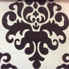 Купить атласную ткань с набивкой из  шенилла, На золотистом фоне «дамаски» шоколадного оттенка, Высота 3,0, Арт: Morocco, col 25, Итальянский каталог ткани для пошива штор на заказ.
