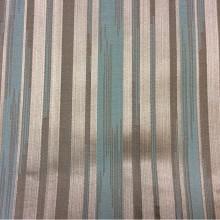 Заказать жаккардовую ткань с добавлением хлопка, Вертикальные хаотичные полосы бирюзового, коричневого оттенков, Ширинас  1,40, FGlamour, col  4, Итальянский каталог ткани для пошива штор на заказ.