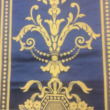 Портьерная ткань из натуральных  шёлка и хлопка серии «Премиум-класса»