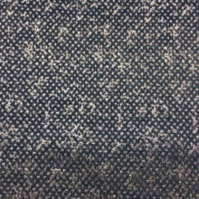 Серебристо-синий шенилл из вискозы с абстрактным точечным рисунком