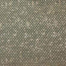 Золотисто-зелёный шенилл из вискозы с абстрактным точечным рисунком