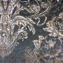 Роскошный бархат из вискозы и хлопка с красивым многослойным рисунком