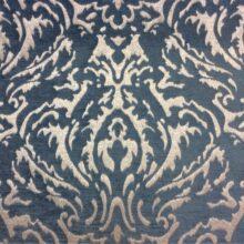 Красивая ткань для портьер из вискозы с классическим рисунком «дамаск»
