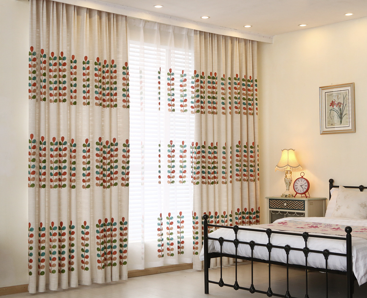 Ткань вышивка для штор