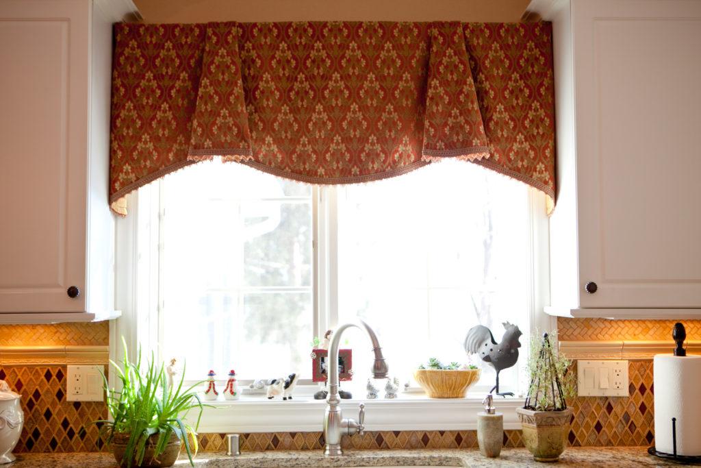 Ткань для штор в кухню