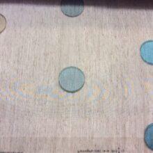 Тюлевая тонкая ткань (органза) в современном стиле