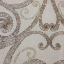 Тюлевая ткань из тонкого батиста в современном стиле