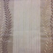 Плотная органза с вышивкой и чередованием сегментов рогожки
