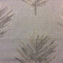 Портьерная ткань с растительным орнаментом в современном и классическом стиле