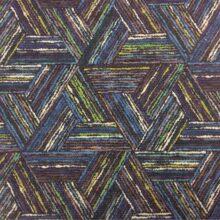 Сине-фиолетовая портьерная ткань из хлопка