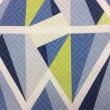 Портьерная ткань из хлопка с крупным геометрическим рисунком