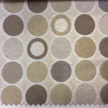 Портьерная ткань с геометрическим рисунком в современном стиле