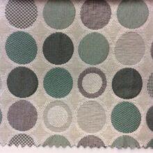 Портьерная ткань с геометрическим рисунком «круги»