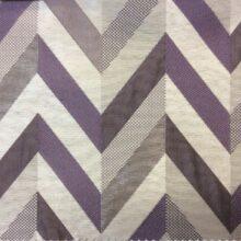 Портьерная ткань треугольники серо-фиолетовых оттенках