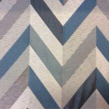 Портьерная ткань в серебристо-бирюзовых тонах