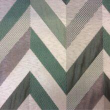 Портьерная ткань в серебристых и зелёных оттенках