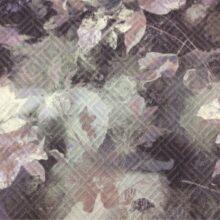 Портьерная ткань из хлопка с растительным орнаментом в Москве