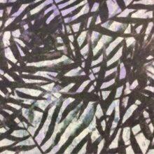 Портьерная ткань из хлопка в фиолетово-зелёных оттенках