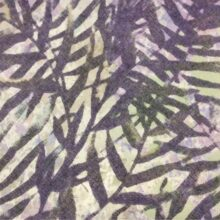 Хлопковая портьерная ткань с растительным орнаментом