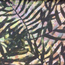 Портьерная ткань микс из хлопка с растительным орнаментом