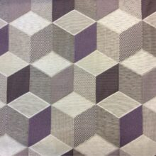 Портьерная ткань с геометрическим рисунком и эффектом 3D
