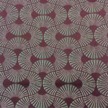 Портьерная атласная ткань темно-розовая