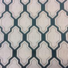 Портьерная атласная ткань с мягким геометрическим рисунком
