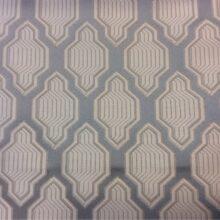 Портьерная атласная ткань 100% полиэстр серо-голубого цвета