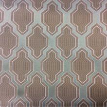 Портьерная ткань с мягким геометрическим рисунком из полиэстера
