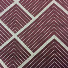 Портьерная атласная ткань в серебристых и тёмно-розовых оттенках