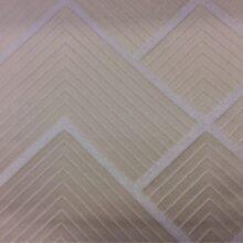 Портьерная атласная ткань с геометрическим рисунком из Германии