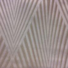 Портьерная атласная ткань с крупным рисунком ванильного оттенка