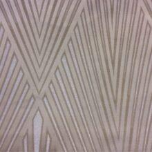 Портьерная атласная ткань с крупным геометрическим рисунком из Германии