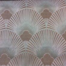 Портьерная атласная ткань с мягким рисунком из полиэстера