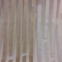 Тюлевая ткань из органзы с вертикальными хаотичными полосками