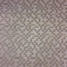 Тюлевая мелкая сетка с вышивкой рисунка тетрис в цветет титан