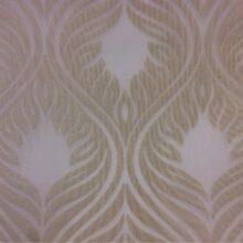 Тюлевая ткань из мягкого батиста с крупным рисунком «дамаск»