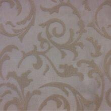 Тюлевая ткань из мягкой сетки с нанесением густых вензелей из Германии