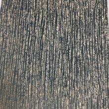 Портьерная ткань премиум-класса из бархата с вертикальным фактурным нанесением бирюзовая