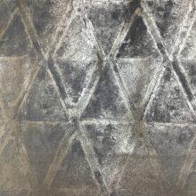 Портьерная ткань премиум-класса из бархата с геометрическим рисунком