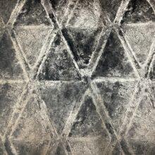 Портьерная ткань премиум-класса из бархата с темным геометрическим рисунком