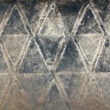 Портьерная ткань премиум-класса из бархата с геометрическим нанесением
