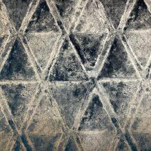 Портьерная ткань премиум-класса из бархата с ромбами