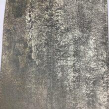 Портьерная ткань премиум-класса из бархата с фактурным нанесением золотистая
